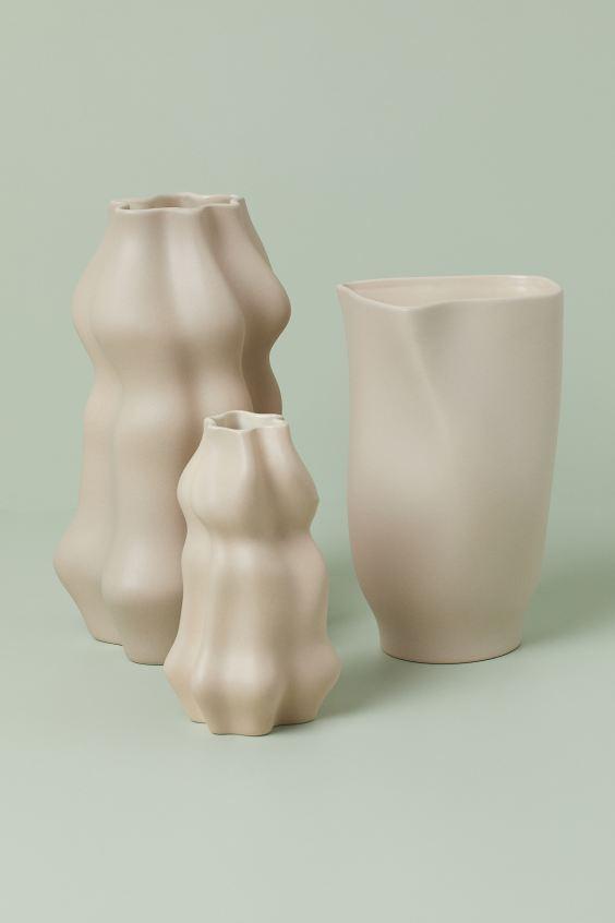 Jarrón grande de cerámica