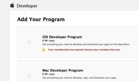 Apple sube en Europa el precio de sus Programas para Desarrolladores de Mac e iOS