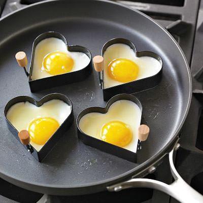 Heart Shaped Egg Fry Rings