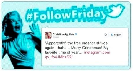 #FollowFriday de Poprosa: La Navidad se cuela en casa de los famosos