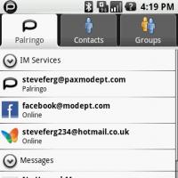 Palringo, mensajería instantánea para Android