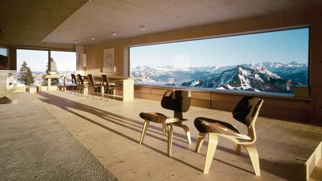 paisajes enmarcados alpes