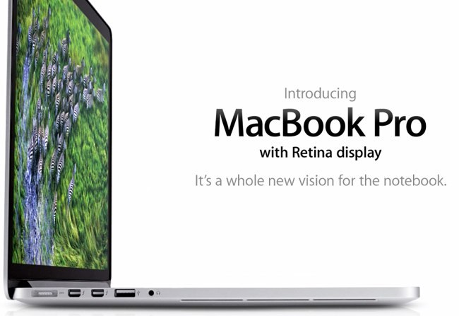 MacBook Pro, la nueva generación con Retina display ya está aquí