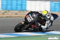Danny Kent arrasa en Moto3, mientras Claudio Corti y Takaaki Nakagami  lideran en Moto2 el último día de test en Jerez