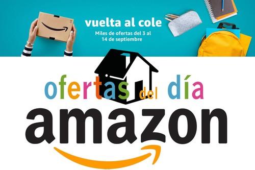 Vuelta al cole en Amazon: 24 ofertas del día en hogar. Equipar tu casa sale hoy mucho más barato
