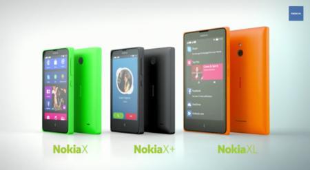 Nokia X, Nokia X+ y Nokia XL, los primeros Nokia con Android son ya una realidad