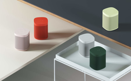 Sonos One quiere llamar la atención en nuestros salones y  se renueva con estos llamativos colores
