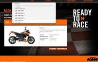 Nuevo programa de pruebas de motocicletas de KTM