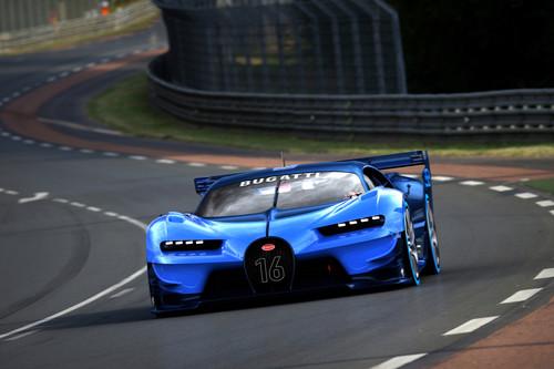 Bugatti Vision Gran Turismo, en él se inspirará el inminente Chiron