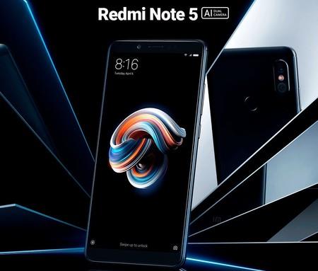 El Redmi Note 5 es el segundo smartphone de Xiaomi que se venderá en México con Telcel