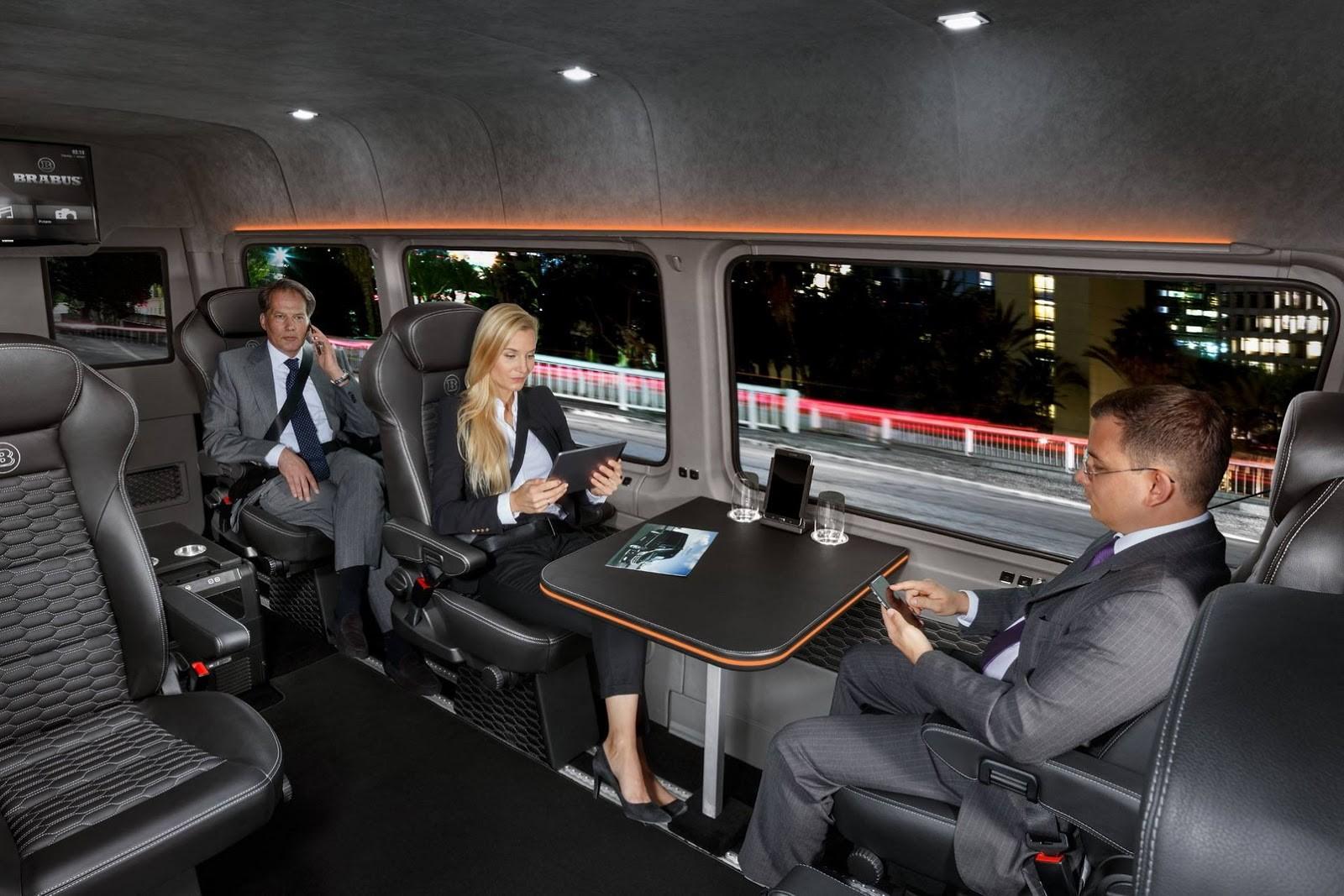 Foto de Brabus Mercedes-Benz Sprinter Conference Lounge (3/15)
