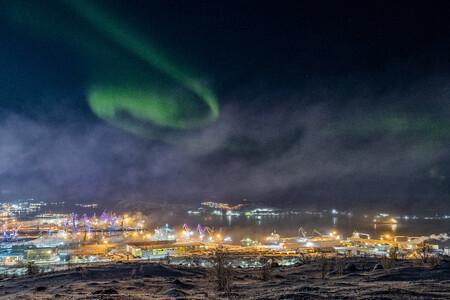 Aurora In Murmansk C Vitaliy