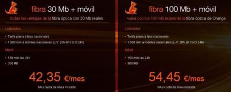 fibra orange tarifas