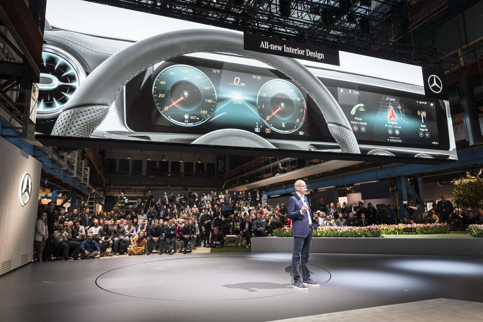 Foto de Mercedes-Benz Clase A 2018 - presentación (23/114)