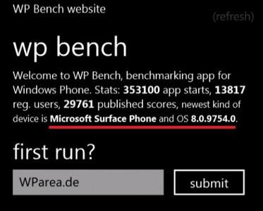 Aparece el nombre Microsoft Surface Phone entre benchmarks
