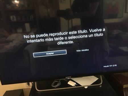 Sony Fallo Netflix