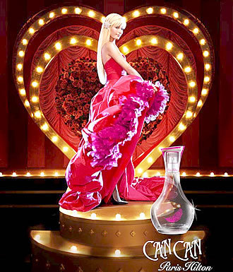 Can Can, la nueva fragancia de Paris Hilton