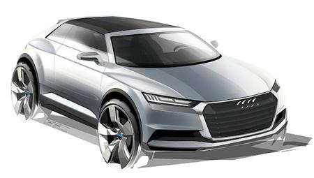 Audi Crossline Coupé Concept dibujo
