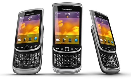 Blackberry Torch 2 9810 en México con Iusacell