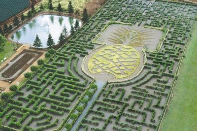 El laberinto más grande del mundo y otros laberintos que debes visitar