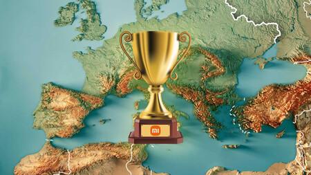 Xiaomi ya reina en Europa como la compañía de móviles más vendida