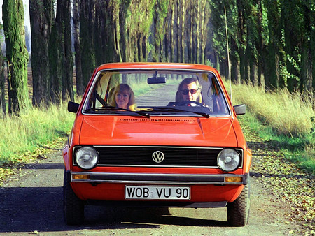 El primer Volkswagen Golf de la historia (1974)