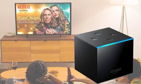 El streamer más avanzado de Amazon también está de oferta: Fire TV Cube por 76,77 euros