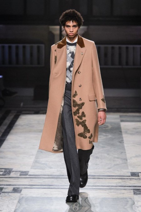 Alexander Mcqueen Mens Autumn Fall Winter 2016 Lfw15