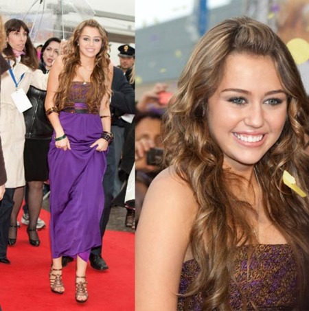 Más looks de Miley Cyrus en su paso por Roma