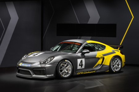 Porsche Cayman GT4 Clubsport. Desearás tener licencia de piloto