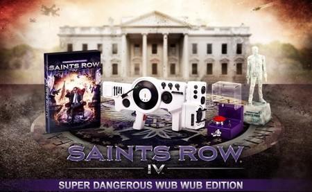 'Saints Row IV' y su edición de coleccionista Super Dangerous Wub Wub Edition