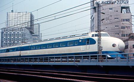 Shinkansen 0 Series Yurakucho 19670505