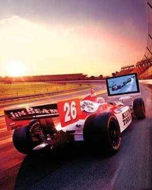 Simulador de Indycar espectacular