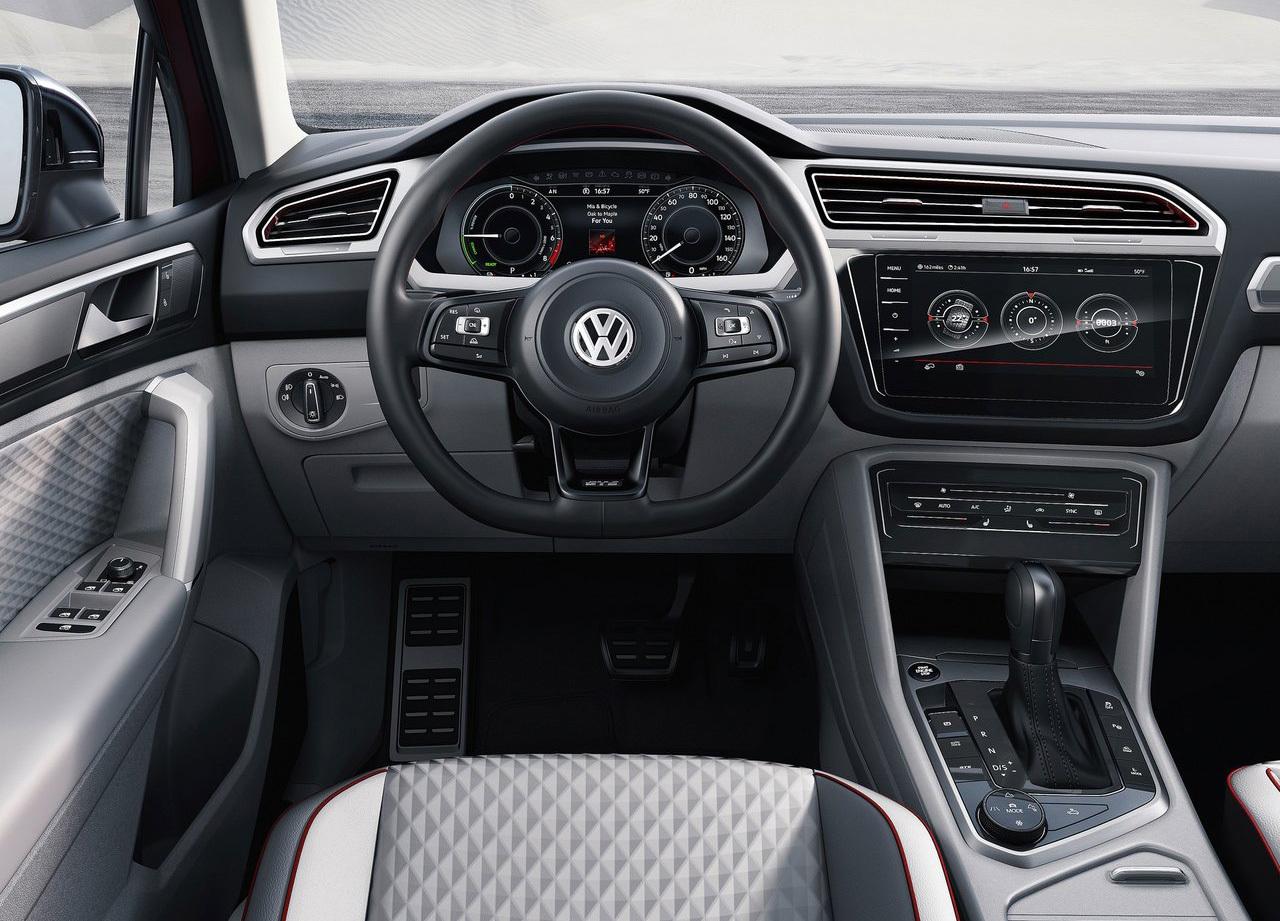 Foto de Volkswagen Tiguan GTE Active Concept (4/17)