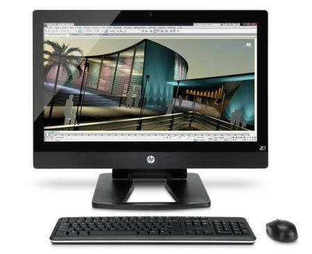 HP Z1: la nueva estación de trabajo todo en uno de HP