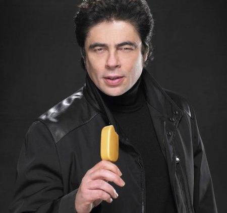 Benicio del Toro te robará el helado