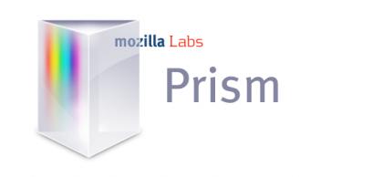 Prism, aplicaciones web con el estilo de Mozilla