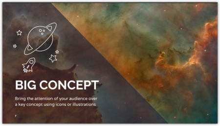 Free Inspiring Presentation Design Powerpoint Template