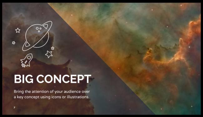 Free Inspiring Presentation Design Powerpoint Template