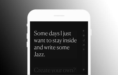 Esta web traduce todo lo que escribes en Jazz y te permite compartirlo con otras personas