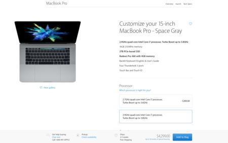 Customize MacBook Pro