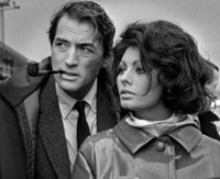 Sophia Loren chubasquero