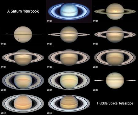 Saturno Hubble