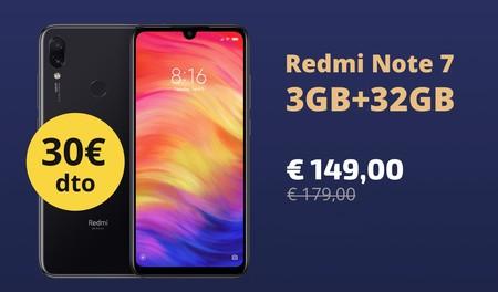 Xiaomi Redmi Note 7, uno de los mejores gama media del momento, por 149 euros en AliExpress Plaza