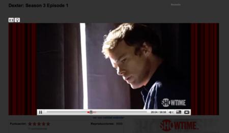 Dexter por un tubo