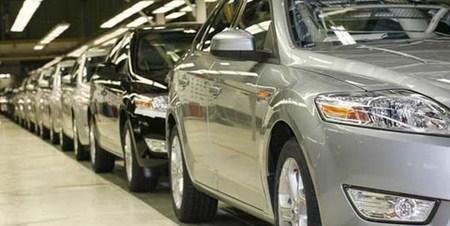 Linea de produccion del Ford Mondeo