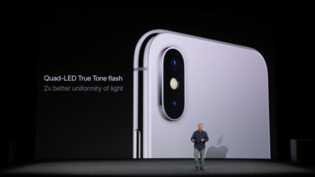 La cámara doble del iPhone X