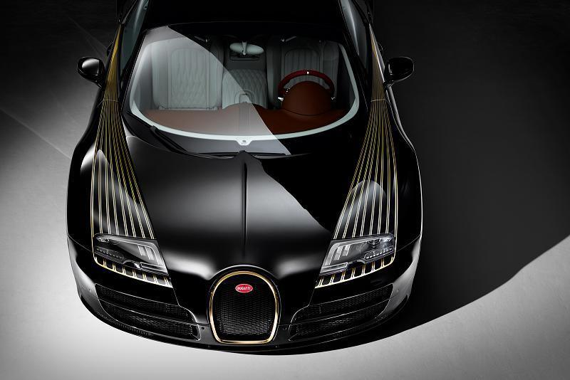 "Foto de Bugatti Veyron ""Black Bess"" Legends Edition (5/17)"