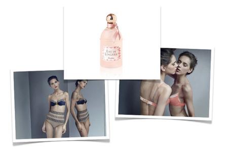 Con motivo de San Valentín, las firmas Guerlain y Absolutely Pôm, se asocian en una sensual colaboración