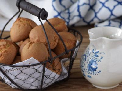 Bollinos o bollitos de nata. Receta tradicional gallega